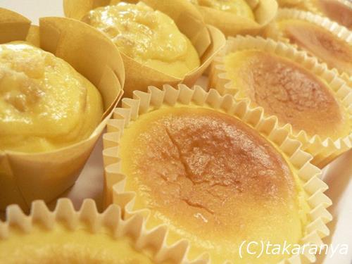 神戸半熟チーズケーキと神戸半熟ハイカラぽてと